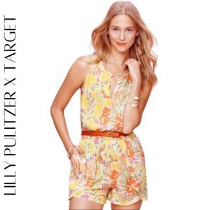 LILLY PULITZER for Target Challis Romper, M
